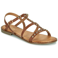 Schoenen Dames Sandalen / Open schoenen Betty London OVADE Camel