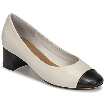 Schoenen Dames pumps Betty London OMINA Wit / Zwart