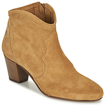 Schoenen Dames Enkellaarzen Betty London OISINE Camel