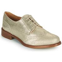 Schoenen Dames Derby Betty London CODEUX Goud