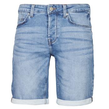 Textiel Heren Korte broeken / Bermuda's Only & Sons  ONSPLY Blauw / Medium