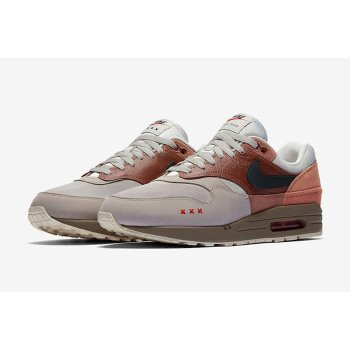 Schoenen Lage sneakers Nike Air Max 1 Amsterdam Red Bark/Khaki/Terra Blush/Dusty Peach