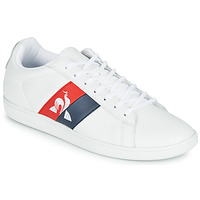Schoenen Heren Lage sneakers Le Coq Sportif COURTCLASSIC FLAG Wit / Rood