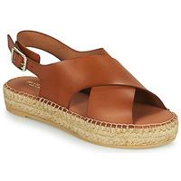 Schoenen Dames Sandalen / Open schoenen Minelli MOULTI Bruin