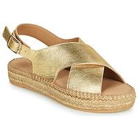 Schoenen Dames Sandalen / Open schoenen Minelli MEPLATINE Goud