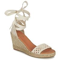 Schoenen Dames Sandalen / Open schoenen Minelli SHELLYE Ecru