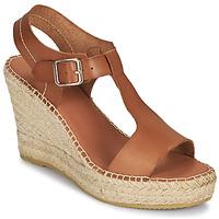 Schoenen Dames Sandalen / Open schoenen Minelli LIZZIE Bruin