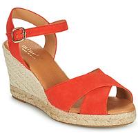 Schoenen Dames Sandalen / Open schoenen Minelli OMELLA Rood