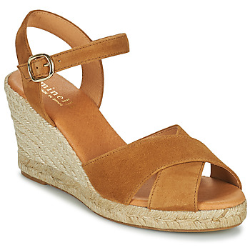 Schoenen Dames Sandalen / Open schoenen Minelli OMELLA Bruin