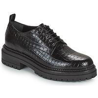 Schoenen Dames Derby Minelli EMYLANDE Zwart