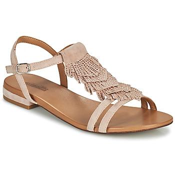 Schoenen Dames Sandalen / Open schoenen Minelli DAISY Roze