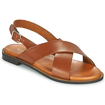 Schoenen Dames Sandalen / Open schoenen Minelli DONA Bruin