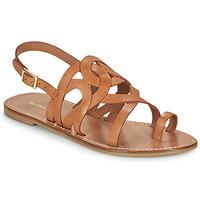 Schoenen Dames Sandalen / Open schoenen Minelli NOUNNA Bruin