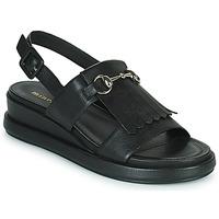 Schoenen Dames Sandalen / Open schoenen Minelli HEMYE Zwart