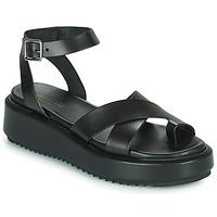 Schoenen Dames Sandalen / Open schoenen Minelli TANGUA Zwart