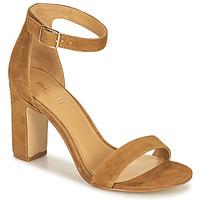 Schoenen Dames Sandalen / Open schoenen Minelli BEINTA Bruin