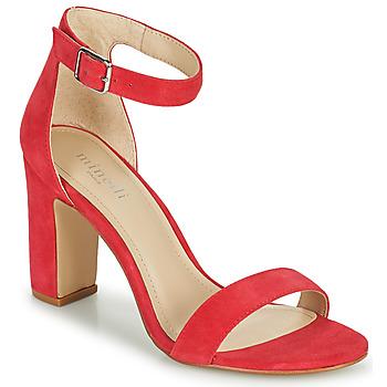Schoenen Dames Sandalen / Open schoenen Minelli FRAMBLISSA Framboos