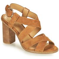 Schoenen Dames Sandalen / Open schoenen Minelli CLAVIA Bruin
