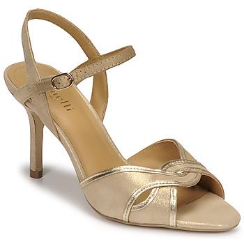 Schoenen Dames Sandalen / Open schoenen Minelli PHILOMENE Goud