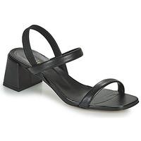 Schoenen Dames Sandalen / Open schoenen Minelli TEILYE Zwart