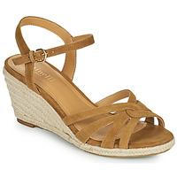Schoenen Dames Sandalen / Open schoenen Minelli TERENSSE Bruin