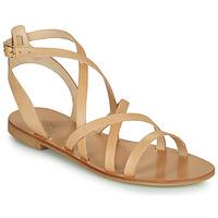 Schoenen Dames Sandalen / Open schoenen Minelli LISATUREL Beige