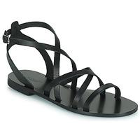 Schoenen Dames Sandalen / Open schoenen Minelli LISOIR Zwart