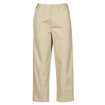 Textiel Dames Chino's Tommy Jeans TJW HIGH RISE STRAIGHT Beige