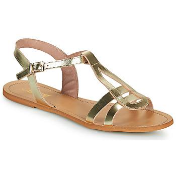 Schoenen Dames Sandalen / Open schoenen So Size DURAN Goud