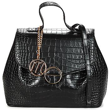 Tassen Dames Handtassen kort hengsel Moony Mood OUNISSE Zwart