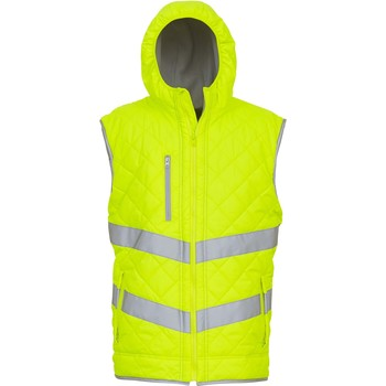 Textiel Vesten / Cardigans Yoko Doudoune  Haute Visibilité jaune