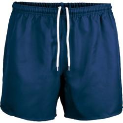 Textiel Korte broeken / Bermuda's Proact Short Praoct Rugby bleu royal/bleu