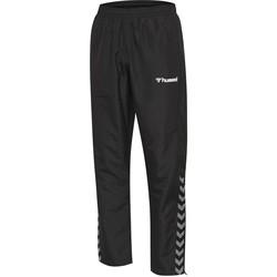 Textiel Kinderen Trainingsbroeken Hummel Pantalon enfant  Authentic Micro noir/blanc