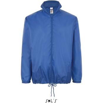 Textiel Windjack Sol's Coupe-vent  Shift bleu royal