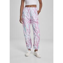Textiel Dames Trainingsbroeken Urban Classics Pantalon femme Urban Classic slim bleu aqua/rose