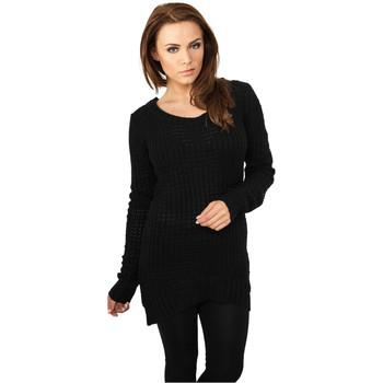 Textiel Dames Sweaters / Sweatshirts Urban Classics Sweatshirt femme Urban Classic long noir