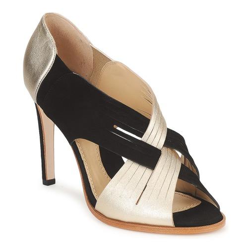 Schoenen Dames pumps Moschino MINEK Zwart / Goud