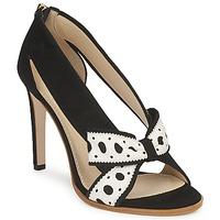 Schoenen Dames pumps Moschino DELOS ESCA Zwart / Ivory