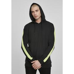 Textiel Heren Trainingspakken Urban Classics Sweatshirt Urban Classic neon Striped noir/jaune pâle