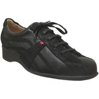 Schoenen Dames Klassiek Hasley DARTOIS Zwart leer