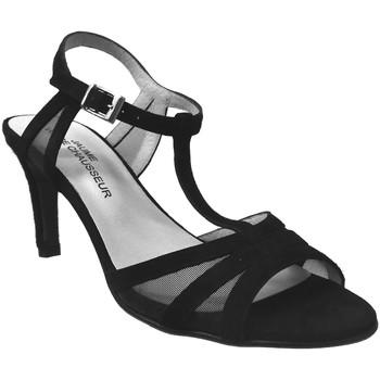 Schoenen Dames Sandalen / Open schoenen Brenda Zaro F2039 Velvet zwart