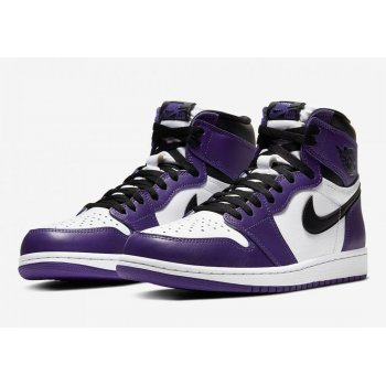 Schoenen Hoge sneakers Nike Air Jordan 1 Court Purple 2.0 Court Purple/White-Black
