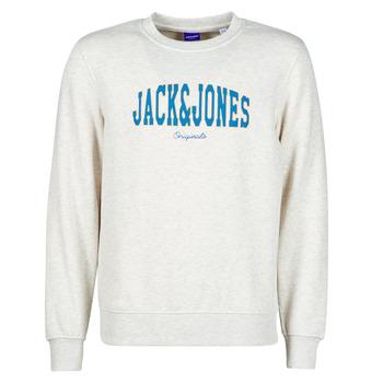 Textiel Heren Sweaters / Sweatshirts Jack & Jones JORHART Wit