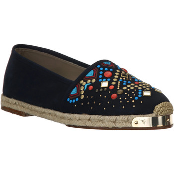 Schoenen Dames Espadrilles Giuseppe Zanotti E66084 NAVY beige