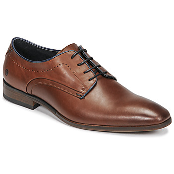 Schoenen Heren Derby Carlington OLIO Cognac