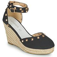 Schoenen Dames Sandalen / Open schoenen Café Noir NOEL Zwart