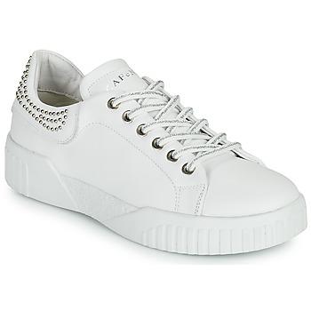 Schoenen Dames Lage sneakers Café Noir THINA Wit