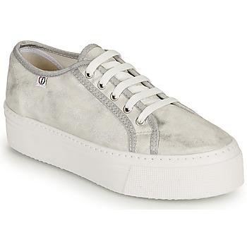 Schoenen Dames Lage sneakers Yurban SUPERTELA Zilver