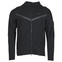 Textiel Heren Trainings jassen Nike NSTCH FLC HOODIE FZ WR Zwart