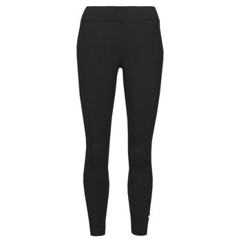 Textiel Dames Leggings Nike NSESSNTL 7/8 MR LGGNG Zwart / Wit